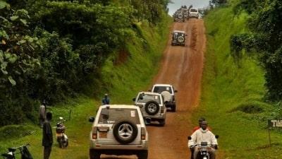 לנהוג את אפריקה